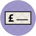 Pound Sign Bank Icon
