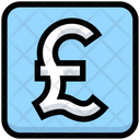 Business Financial Pound Icon