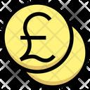 Pound Coins Invest Icon