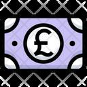 Pound Cash Money Icon