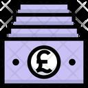 Pound Cash Payment Icon