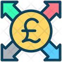 Pound Send Payment Icon