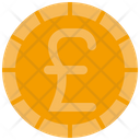 Pound Coin Cash Icon