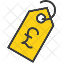 Pound Currency Price Icon
