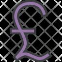 Pound Sterling British Icon