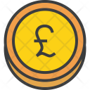Pound Sterling Coin Icon