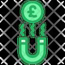 Pound Attract Icon