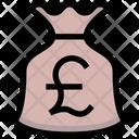 Pound Bag Money Bag Money Sack Icon