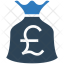 Pound Bag Money Bag Money Sack Icon