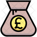 Pound Bag Money Bag Pound Icon