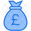 Pound Bag Money Bag Bag Icon