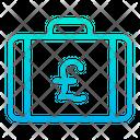 Pound Briefcase Icon