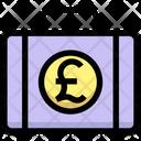 Pound Briefcase Pound Money Icon