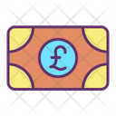 Mcurrency Pound Cash Money Icon