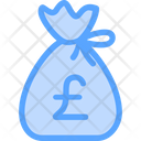 Pound Money Bag Icon