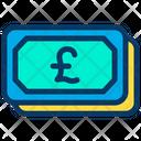 Pound Cash Icon