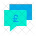 Chat Bubble Pound Chat Business Chatting Icon