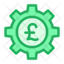 Pound Cog Icon