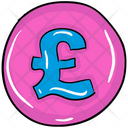Pound Coin Currency Coin Money Icon