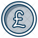 Pound Coins Currency Coin Icon
