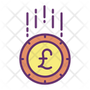 Mcoins Pound Pound Coin Pound Icon