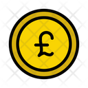 Pound Currency Coin Icon