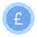 Pound Sterling Currency Money Icon