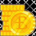 Cash Coin Pound Icon