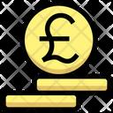 Pound Coin Money Cash Icon