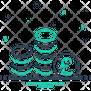 Pound Cash Coin Icon