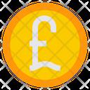 Pound Coin Cash Money Icon