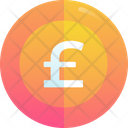 Pound Coin Money Currency Icon