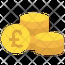 Pound Coins Money Icon