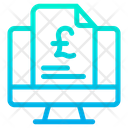 Pound Document Icon
