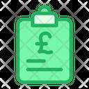 Pound Documents Icon