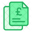 Pound Documents Icon