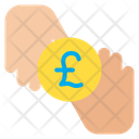 Pound Donation Coin Icon