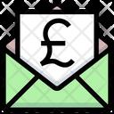 Pound Envelope Pound Letter Icon