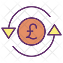 Pound Exchange Icon