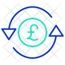 Pound Exchange Icon