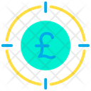 Business Target Earning Target Business Goal Icon