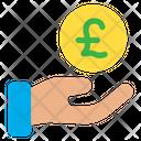 Funding Help Pound Icon
