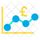 Pound Graph Icon