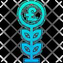 Pound Grow Icon
