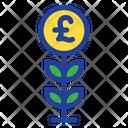 Plant Grow Pound Plant Icon