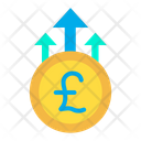 Pound Growth Business Growth Money Growth Icon