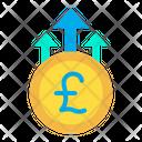 Pound Growth Icon