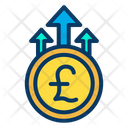 Pound Growth Icon