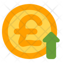 Pound Growth Profit Pound Icon