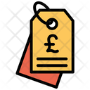 Pound Label Icon